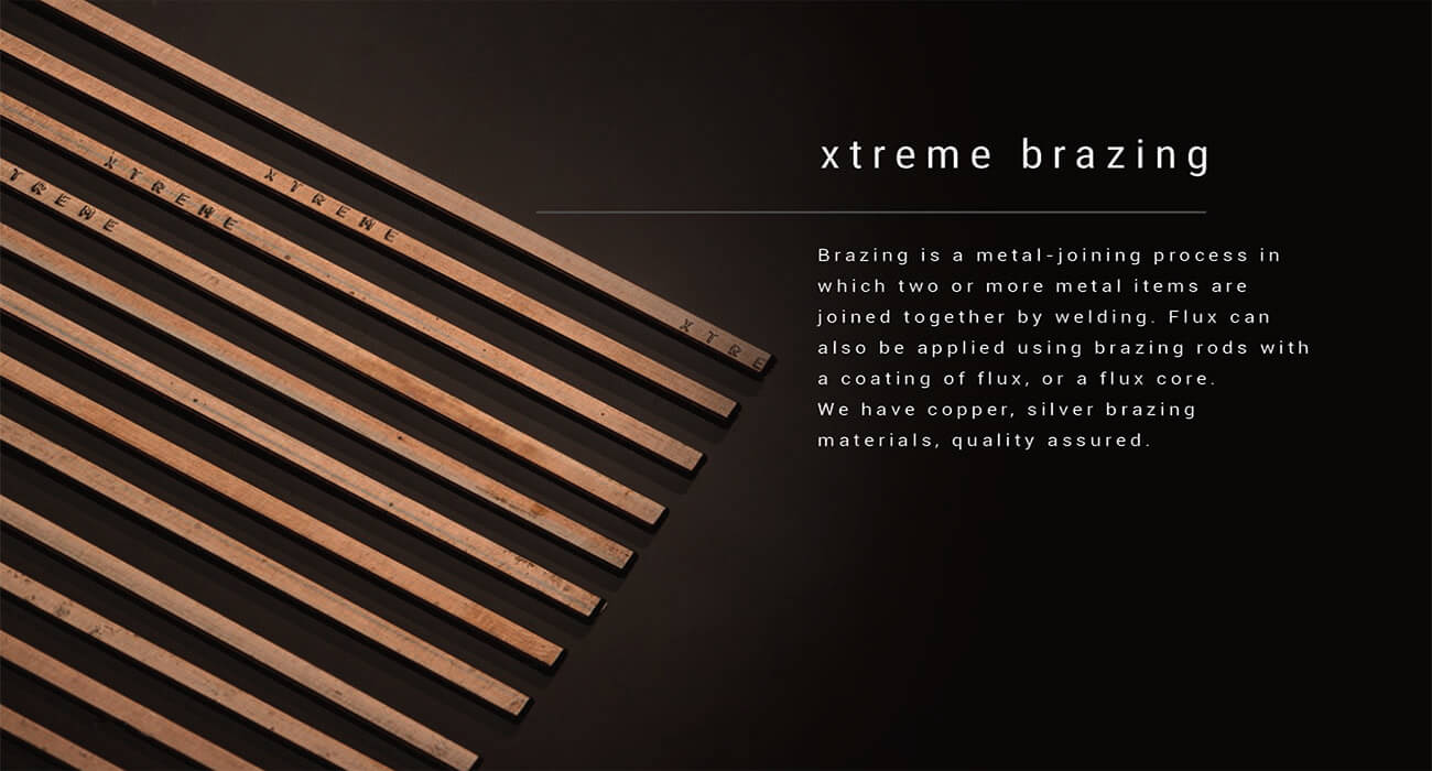 xteme cool brazing rod