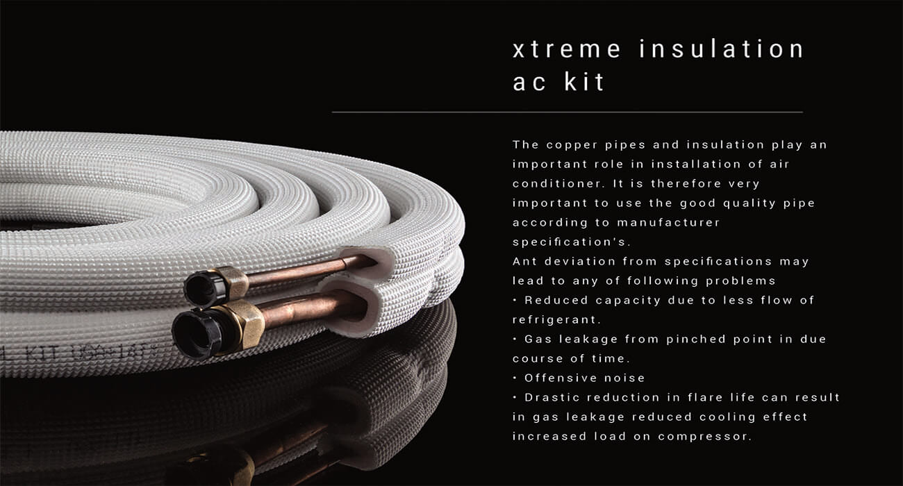 xtreme cool insulation ac kit