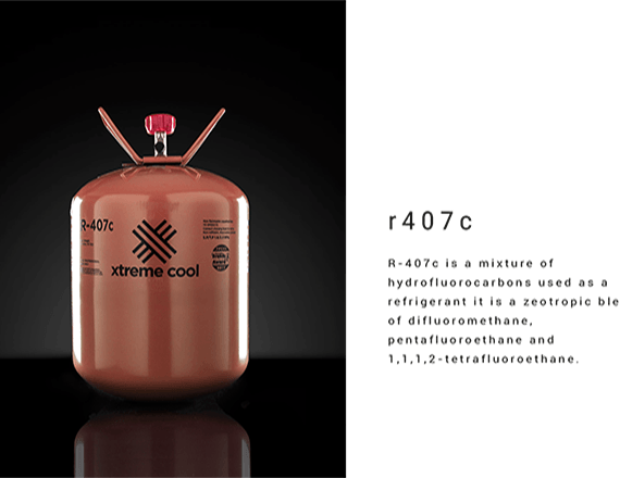 xtreme cool refrigerant 407 c r-407 c r 407c